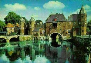 Netherlands J. de Jong Soest Zuid Bridge Gate Postcard