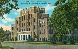 Liberal Arts Building University of Wyoming Laramie WY Linen
