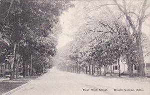 Ohio Mount Vernon East High Street Residential District Albertype