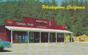 Post Office and General Store Coca Cola Sign Whiskeytown California