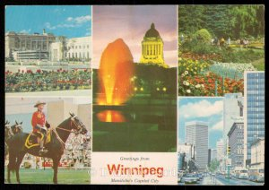 Greetings from Winnipeg - Manitoba's Capital City