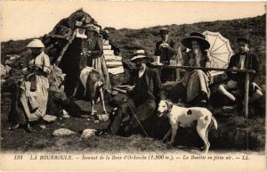 CPA LA BOURBOULE - La Buvette en plein air au sommet (72822)