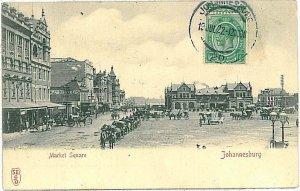 VINTAGE POSTCARD: SOUTH AFRICA - Johannesburg 1922