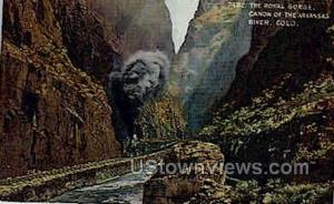 The Royal Gorge Canon of the Arkansas River