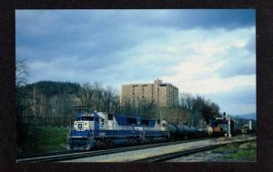 VIRGINIA CLIFTON FORGE VA Chessie Railroad EMD Train