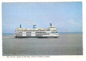 B. C. Ferries Queen Of Oak Bay, British Columbia, Canada, 1970-1980s