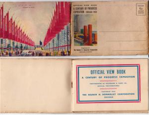 Folder - Expo - Chicago 1933 - 8 Pages