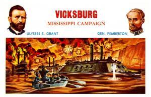 Vicksburg Mississippi Campaign Ulysses S. Grant , Gen pemberton