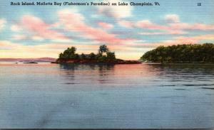 Vermont Lake Champlain Rock Island Malletts Bay