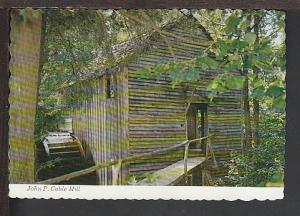 John Cable Mill Great Smokey Mountains Postcard BIN