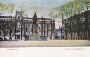 Plein Met Societeit, 'sGravenhage (South Holland), Netherlands, 1900-1910s