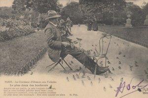 PARIS, France, 1900-10s; Bird Man