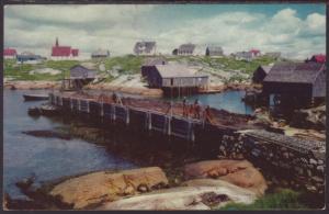 Peggy's Cove,Nova Scotia,Canada Postcard BIN