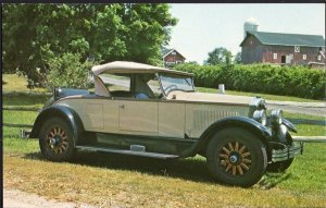 Classic Car Postcard 1927 BUICK Roadster