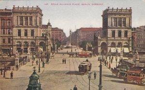 Germany Berlin Trolleys On Belle Alliance Place sk4155