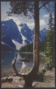 Moraine Lake,Banff,Alberta,Canada Postcard