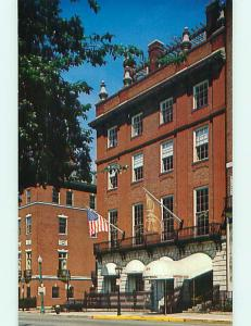 Unused Pre-1980 OLD CARS & HAMPSHIRE HOUSE RESTAURANT Boston MA v6084-13