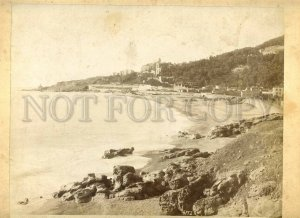 3099497 1860-70 ITALIAN Riviera BIG vintage CABINET PHOTO