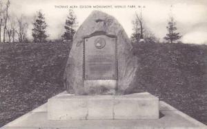 New Jersey Menlo Park Thomas Alva Edison Monument