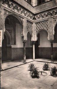 Dolls Court,Royal Moorish Castle,Seville,Spain BIN