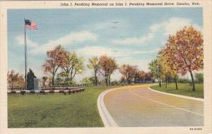 John J Pershing Memorial On John J Pershing Memorial Drive Omaha Nebraska 1952