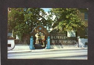 IA Little Bit O O' Heaven Oriental Art Davenport Iowa Postcard Museum