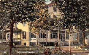 Spring House Huguenot, New York Postcard