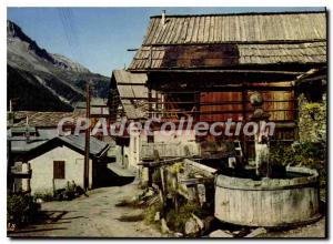 Postcard Old High Odeyras H At the highest village in Europe the old village ...