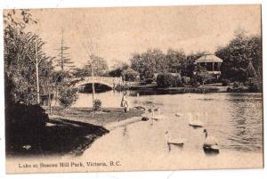 Lake at Beacon Hill Park, Victoria BC