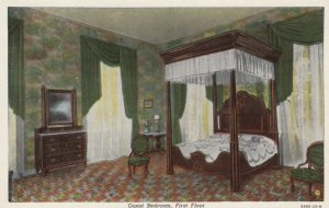 BARDSTOWN, Kentucky, 1930-40s; Guest Bedroom, First Floor, My Old Kentucky Ho...