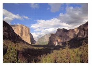 Yosemite National Park, California, USA Postcard, Yosemite Valley X25