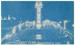 18584   NY Coney Island  Dreamland by night