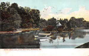 Boat Lake, Druid Hill Park Baltimore, Maryland MD