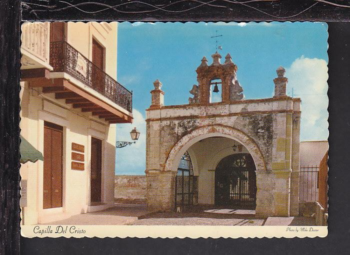 Capilla Del Cristo,San Juan,Puerto Rico Postcard BIN