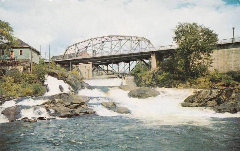 Bracebridge Falls, Muskoka River, Muskoka Lakes District, Bracebridge, Muskok...