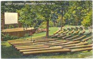 Outdoor Amphitheatre, Mammoth Cave National Park, Kentucky, KY, Linen