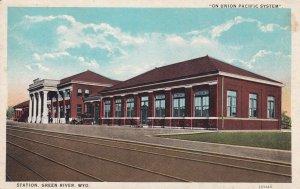 GREEN RIVER , Wyoming , 1910s ; Railroad Train Depot V-2
