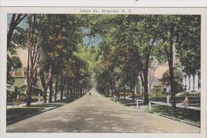 New York Syracuse James Street