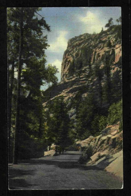 Postcard-South Cheyenne Canon - Colorado Springs, CO
