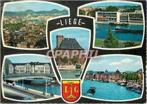 Modern Postcard Liege Luik