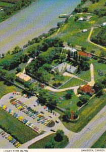 Canada Aerial View Lower Fort Garry Manitoba