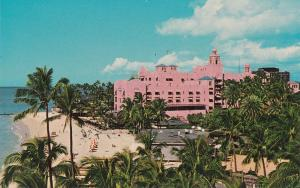 Royal Hawaiian Hotel, Waikiki, Hawaii, 1950s