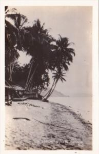 New Guinea Beach Scene Real Photo