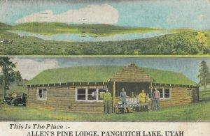 PANGUITCH LAKE , Utah, 1953 ; Allen's Pine LOdge