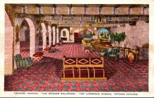 Illinois Chicago Aragon The Lounge 1933