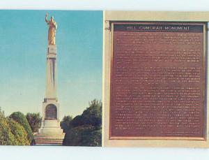 Unused Pre-1980 MONUMENT SCENE Palmyra - Near Rochester New York NY F1651