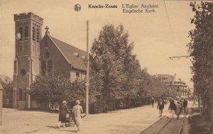 KNOCKE-ZOUTE , Belgium, 00-10s ; Engelsche Kirk