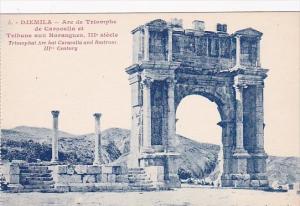 Algeria Djemila Arc de Triomphe de Caracalle