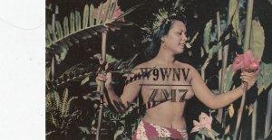 Fiji Island Girl, 1950-60s
