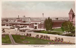 RP: EDMONTON , Alberta , Canada , 1910s-30s ; Canadian National Railroad Depot